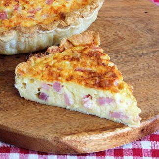 Classic Cheese and Bacon Quiche